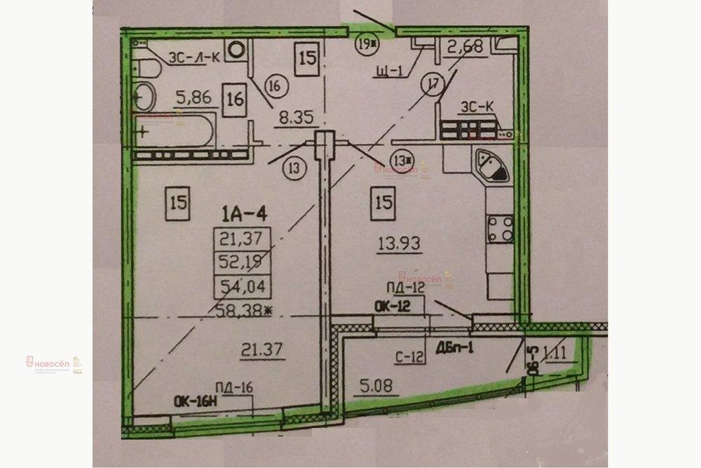 Екатеринбург, ул. Блюхера, 41 (Пионерский) - фото квартиры (1)