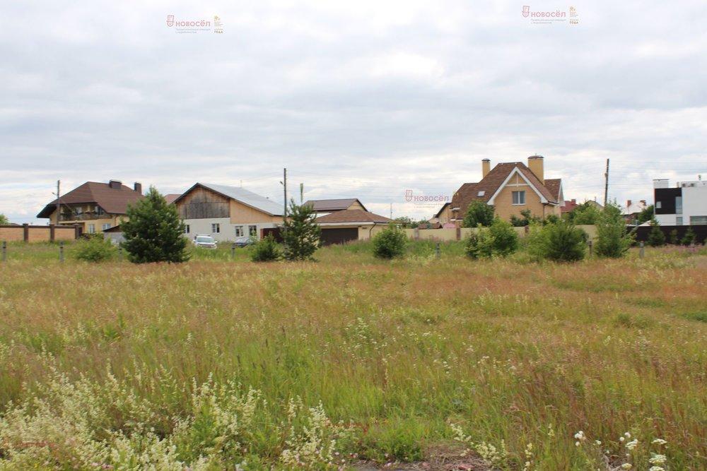 с. Патруши, ул. Восточный (городской округ Сысертский) - фото земельного участка (1)