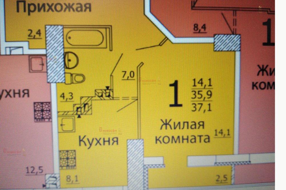 Екатеринбург, ул. Белинского, 177/а3 (Автовокзал) - фото квартиры (1)