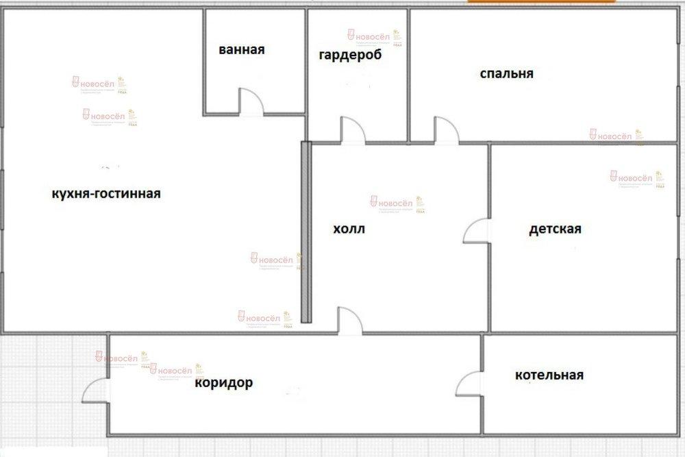 п. Ключевск, ул. Советская, 20 (городской округ Березовский) - фото дома (1)