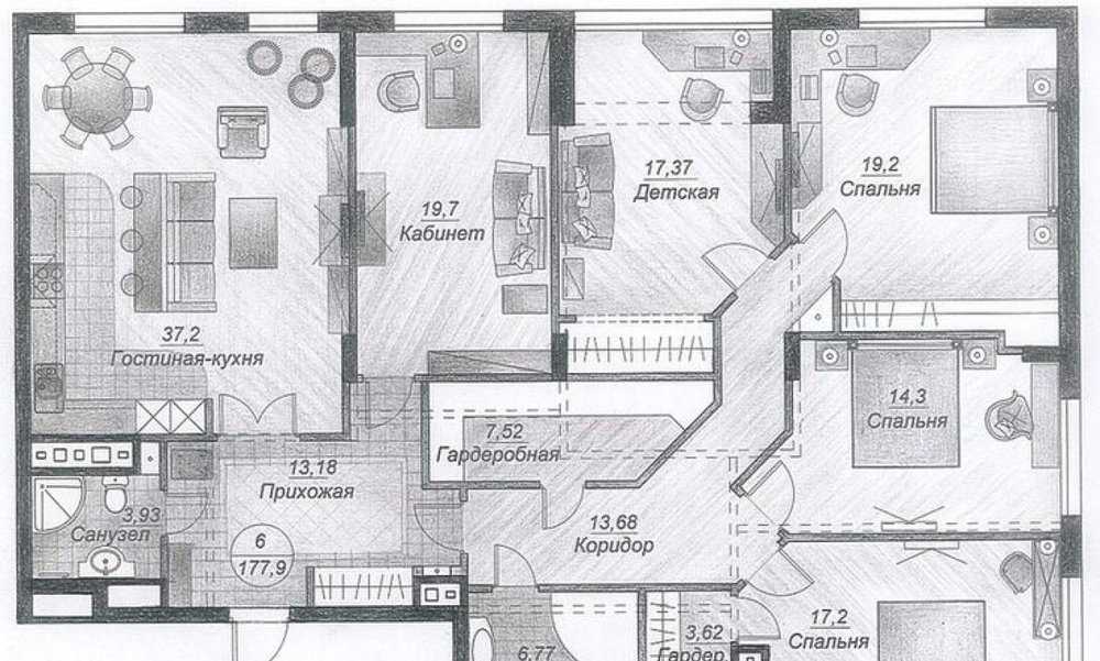 Екатеринбург, ул. Цвиллинга, 12 (Автовокзал) - фото квартиры (1)
