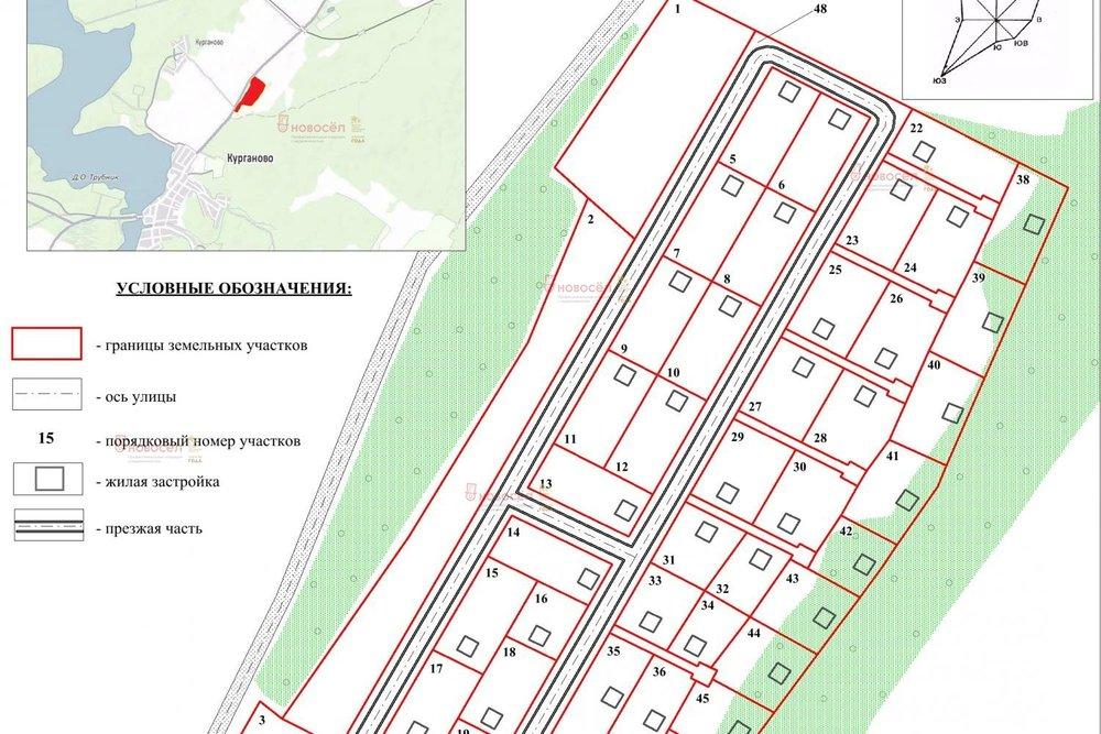 с. Курганово, ул. Елизаветинская (городской округ Полевской) - фото земельного участка (1)