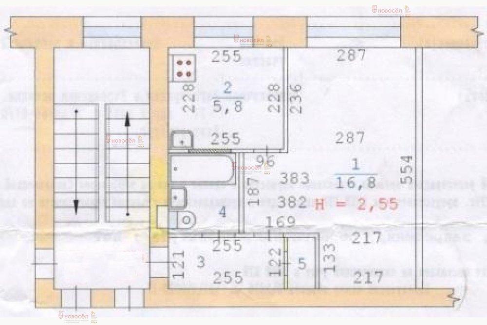 Екатеринбург, ул. Седова, 39 (Старая Сортировка) - фото квартиры (1)