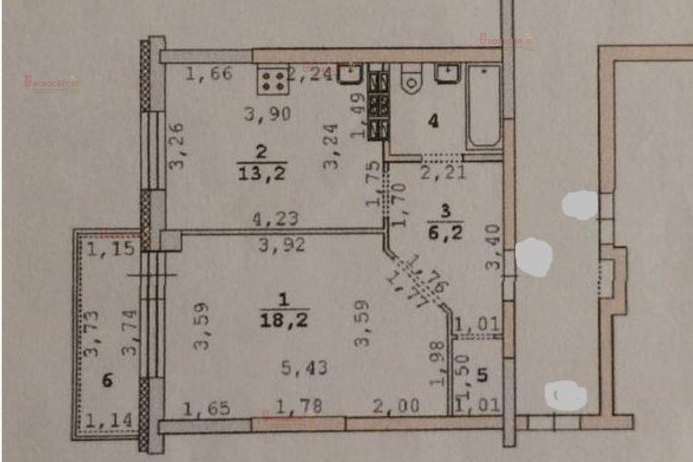 Екатеринбург, ул. Рощинская, 39 (Уктус) - фото квартиры (1)