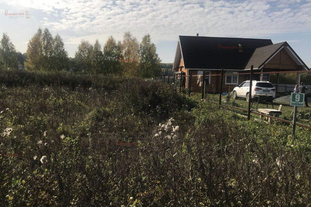 д. Гусева, ул. Зеленая, 9 (городской округ Белоярский) - фото земельного участка (1)