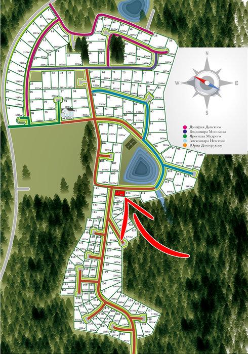к.п. Князевское, уч. 116 (городской округ Первоуральск, п. Хрустальная) - фото земельного участка (1)