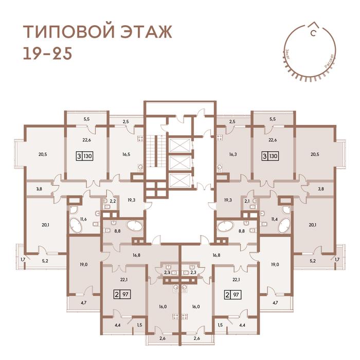 Екатеринбург, ул. Педагогическая, 28 (Втузгородок) - фото квартиры (2)