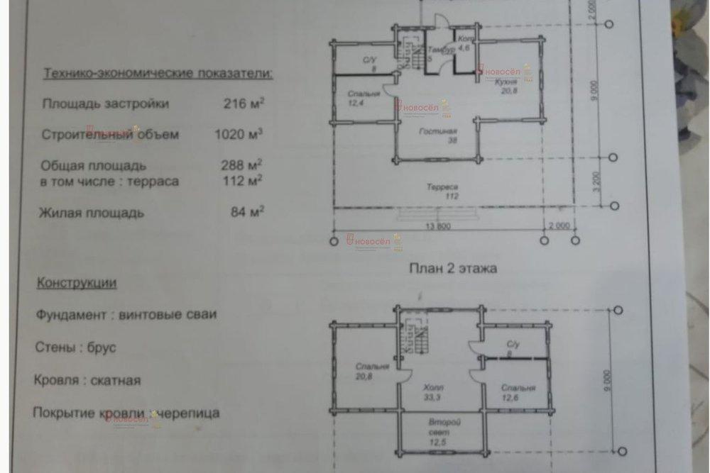 с. Косулино, ул. Садовая, 1 (городской округ Белоярский) - фото коттеджа (1)