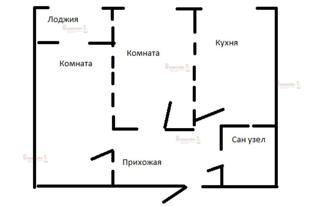 Екатеринбург, ул. Академика Парина, 40/3 (Академический) - фото квартиры (1)