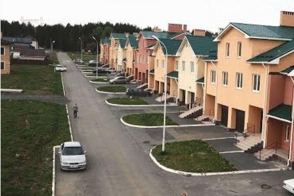 к.п. Николин ключ, д. 11-15 (городской округ Сысертский, с. Кашино) - фото таунхауса (5)