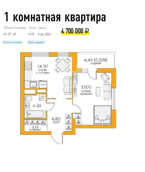 Екатеринбург, ул. Солнечная, 35 (Пионерский) - фото квартиры (1)