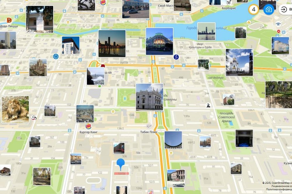 Екатеринбург, ул. Ленина, 52к2 (ВИЗ) - фото комнаты (1)