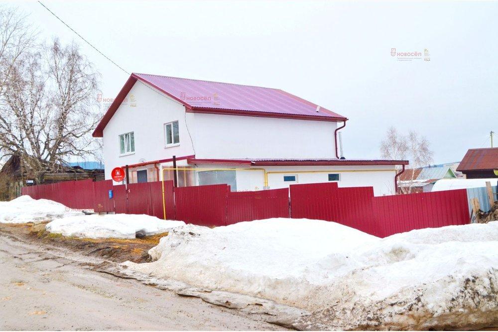 г. Нижние Серги, ул. Володарского, 74 (Нижнесергинский район) - фото коттеджа (1)