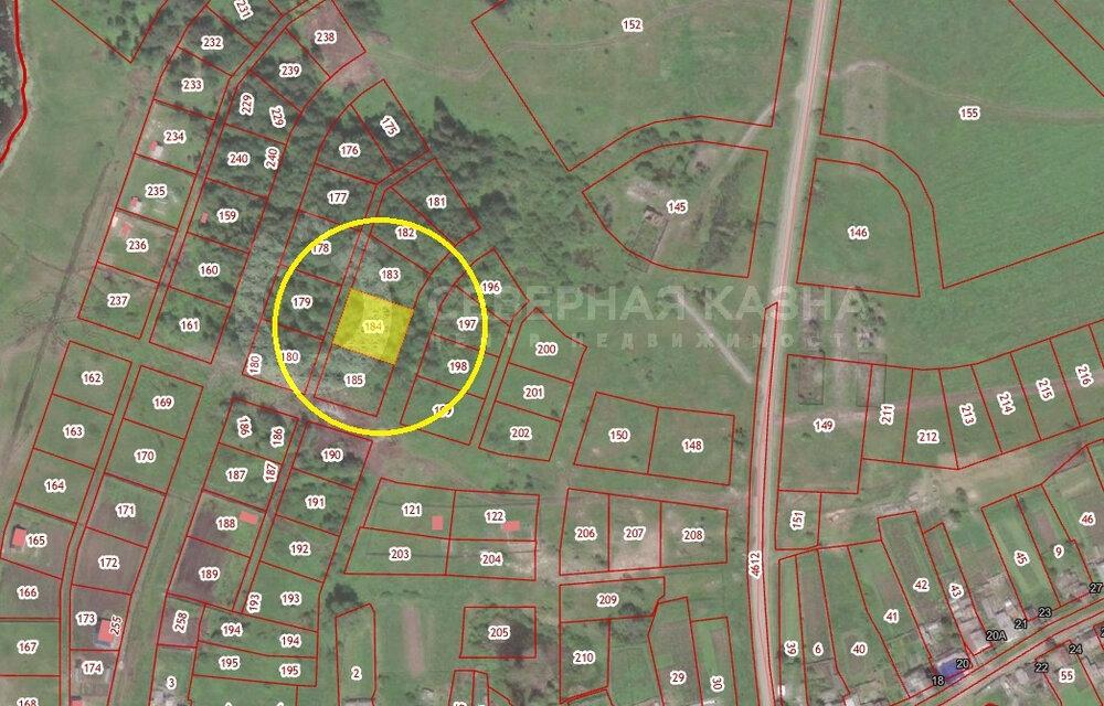 с. Федьковка, ул. Поелвая (городской округ Невьянский) - фото земельного участка (2)