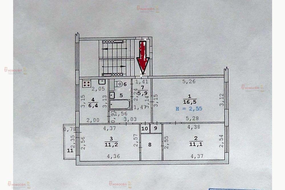 Екатеринбург, ул. Избирателей, 19 (Уралмаш) - фото квартиры (1)
