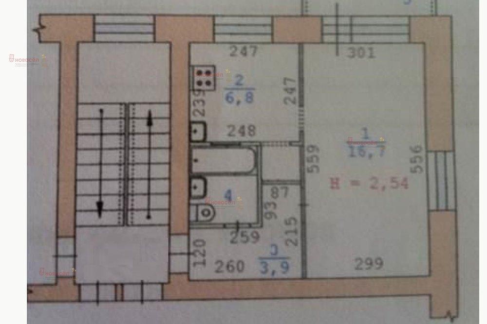 Екатеринбург, ул. Фурманова, 110 (Автовокзал) - фото квартиры (1)