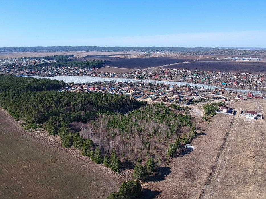 д. Малое Седельниково, ул. Родонитовая (городской округ Сысертский) - фото земельного участка (1)