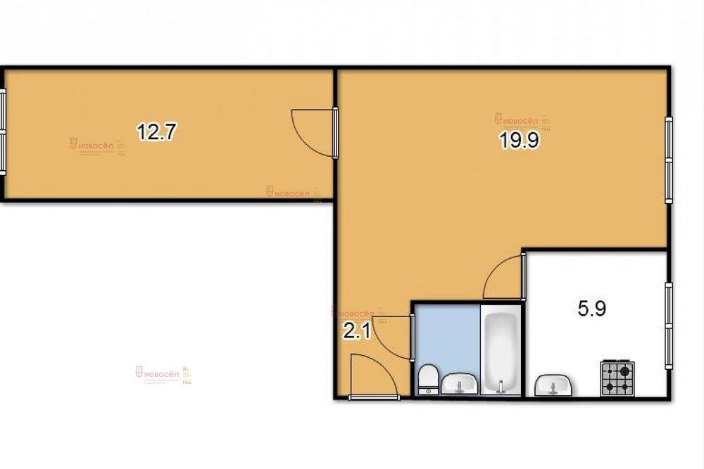 Екатеринбург, ул. Первомайская, 35 (Центр) - фото квартиры (1)