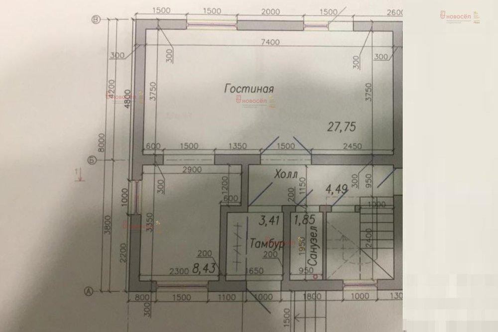 к.п. Становлянка, ул. Центральная, - (городской округ Березовский) - фото дома (1)