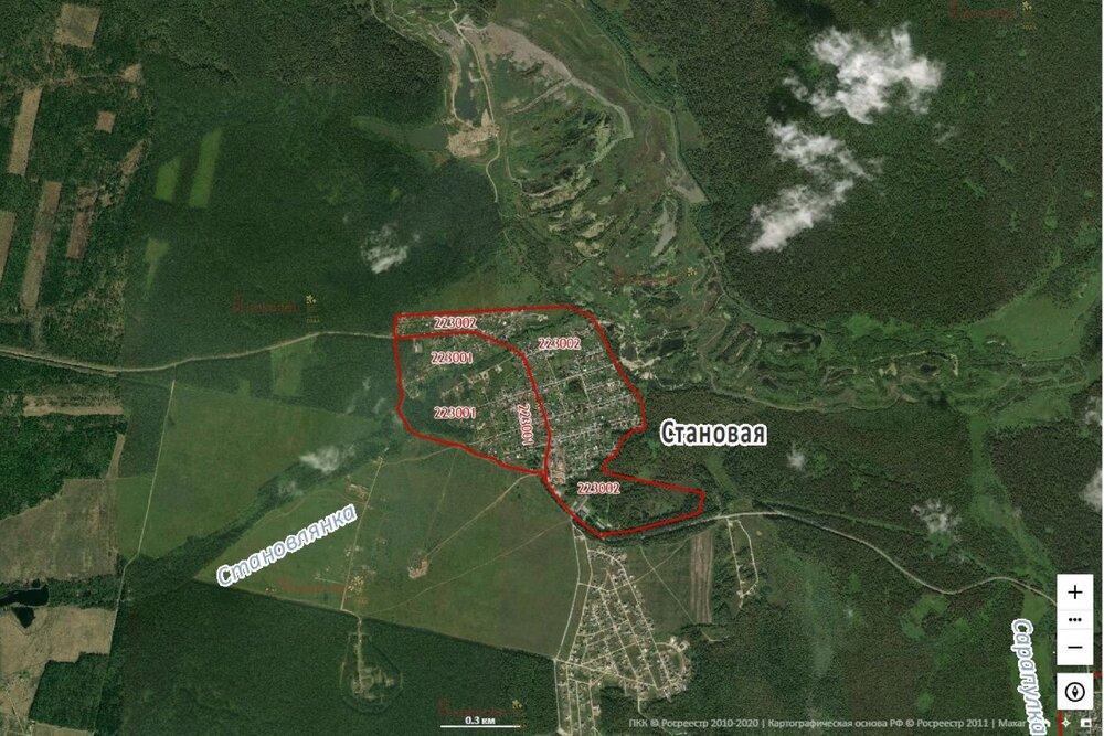 к.п. Становлянка (городской округ Березовский) - фото земельного участка (6)
