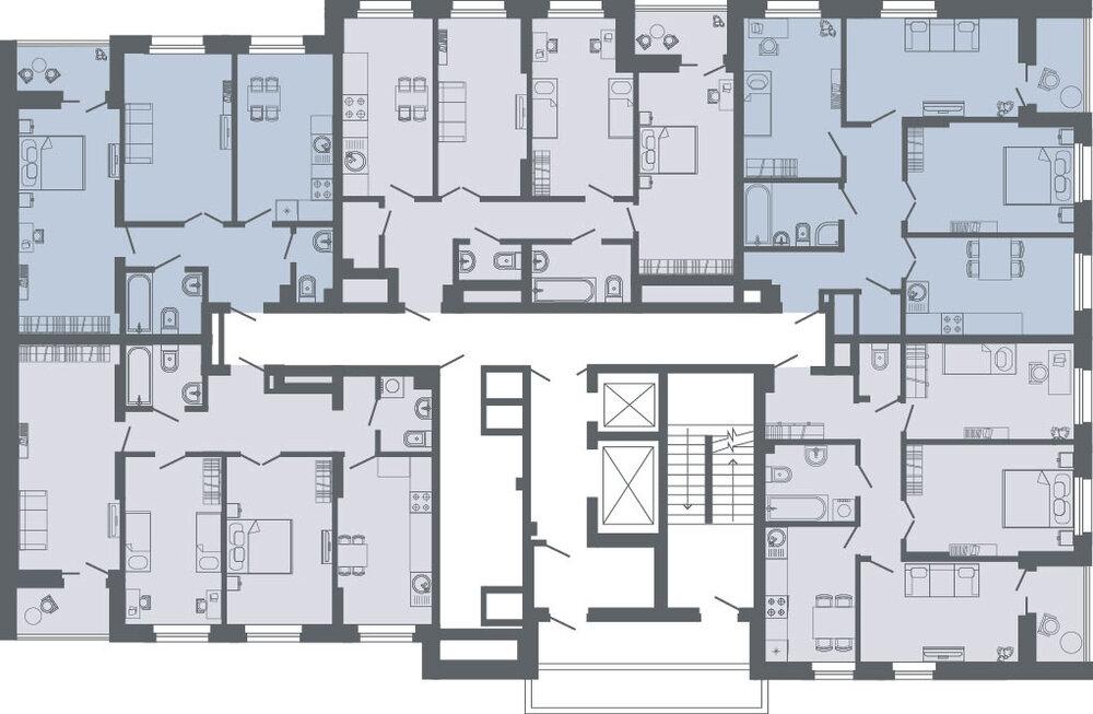 Екатеринбург, ул. Комсомольская, 67, корпус 3 (Втузгородок) - фото квартиры (3)