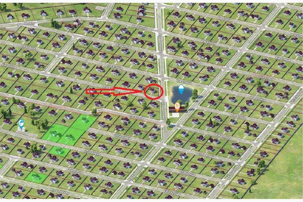 к.п. Александрия, ул. Восьмая, 23а (городской округ Белоярский, д. Гусева) - фото земельного участка (1)