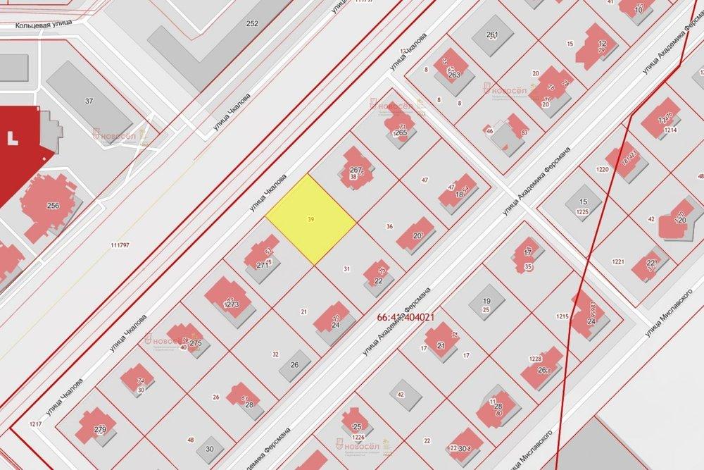 Екатеринбург, ул. Чкалова (КП Европейский), 269 (УНЦ) - фото земельного участка (1)