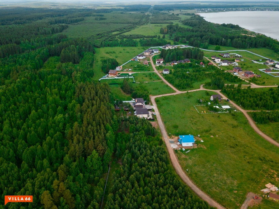 к.п. Лукоморье (городской округ Сысертский, с. Щелкун) - фото земельного участка (2)