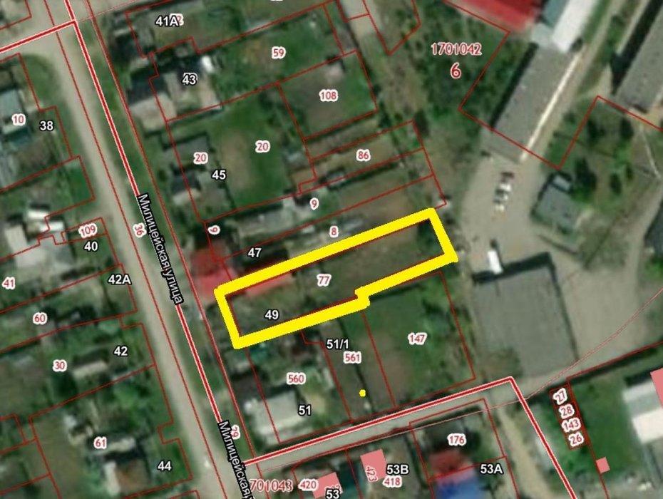 поселок городского типа Белоярский, ул. Милицейская, 49 (городской округ Белоярский) - фото земельного участка (1)