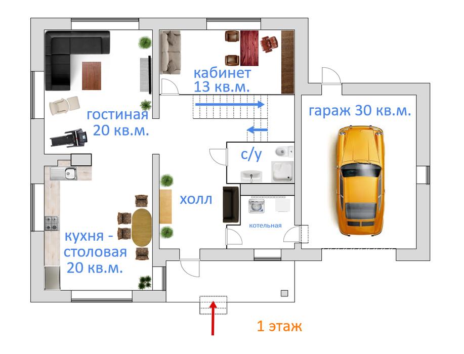 с. Косулино, ул. Чистая, 14 (городской округ Белоярский) - фото дома (1)