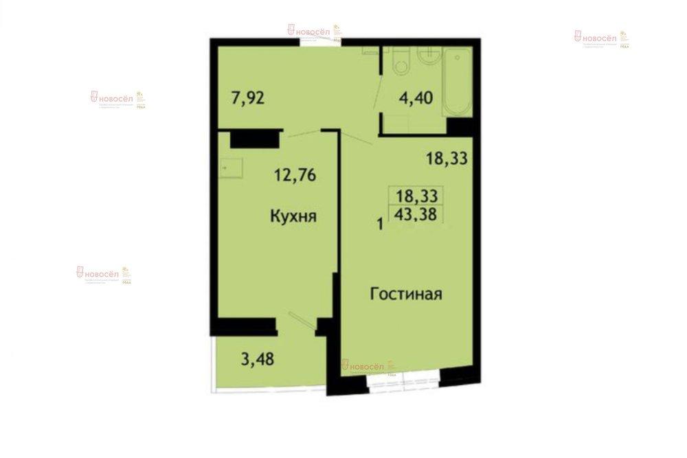 Екатеринбург, ул. Заводская, 75 (Юго-Западный) - фото квартиры (1)