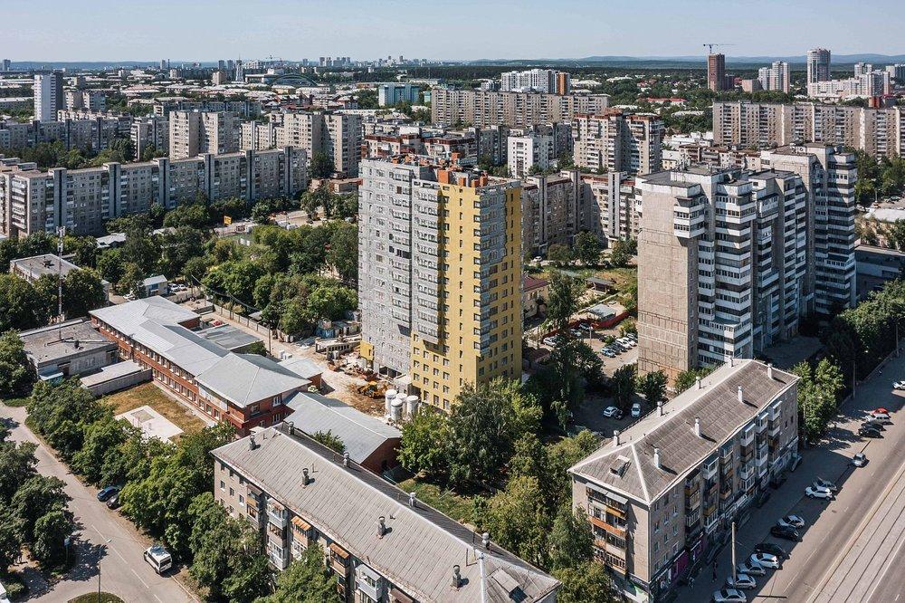 Екатеринбург, ул. Стахановская, 43, ЖК