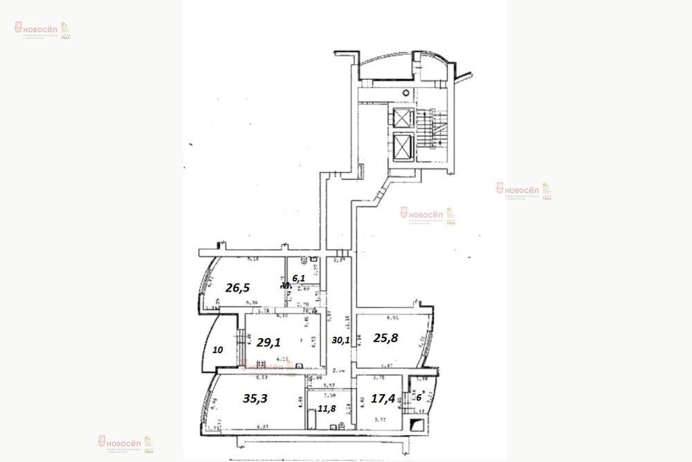 Екатеринбург, ул. Шевелева, 1 (ВИЗ) - фото квартиры (1)