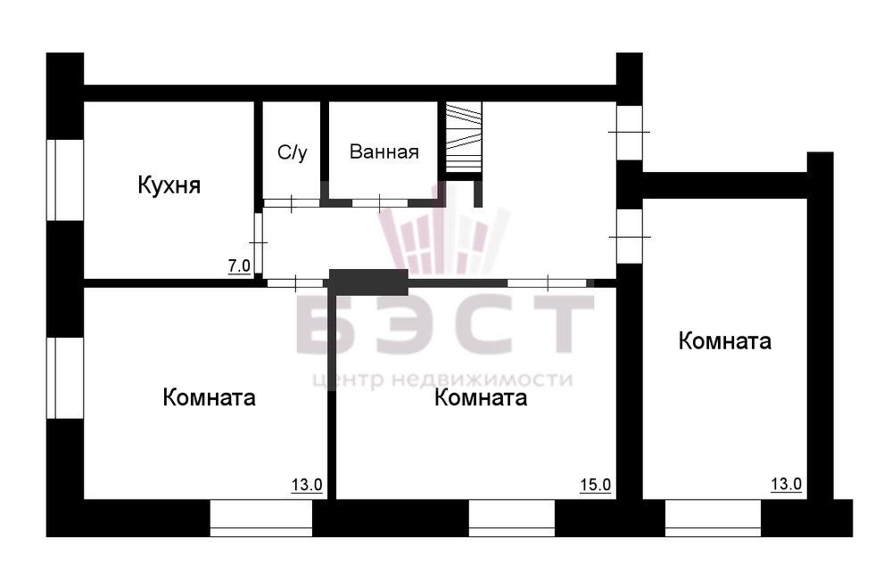 Екатеринбург, ул. Баумана, 20 (Эльмаш) - фото квартиры (1)