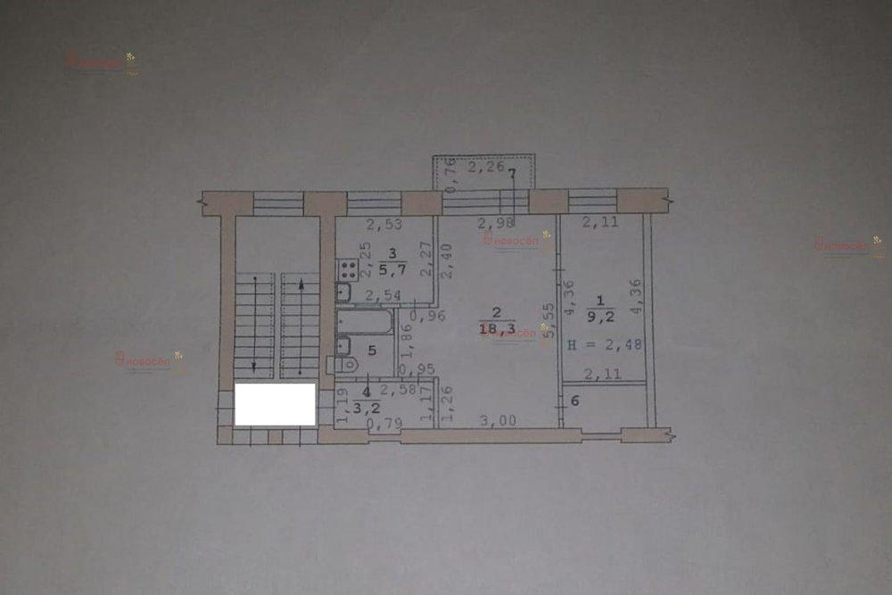 Екатеринбург, ул. Кишиневская, 27 (Старая Сортировка) - фото квартиры (1)