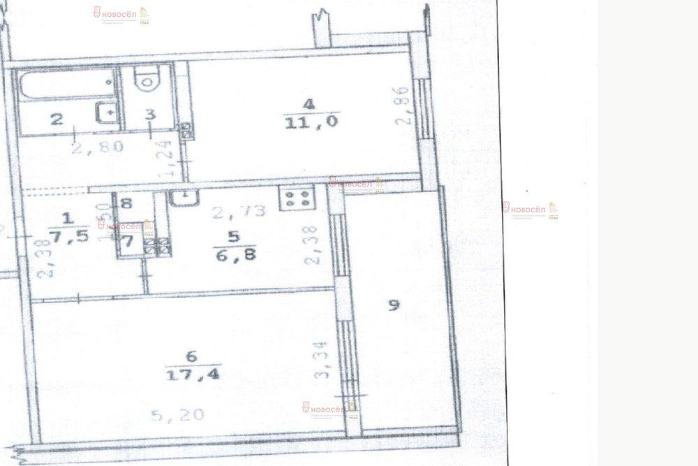 Екатеринбург, ул. Репина, 105 (ВИЗ) - фото квартиры (1)