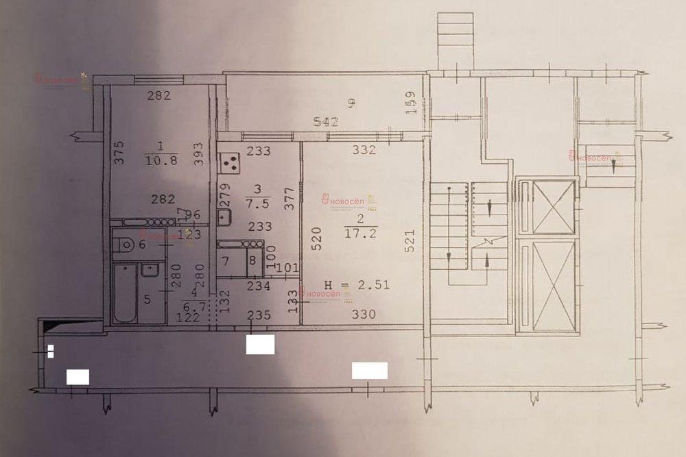 Екатеринбург, ул. Коллективный, 13 (Вторчермет) - фото квартиры (1)