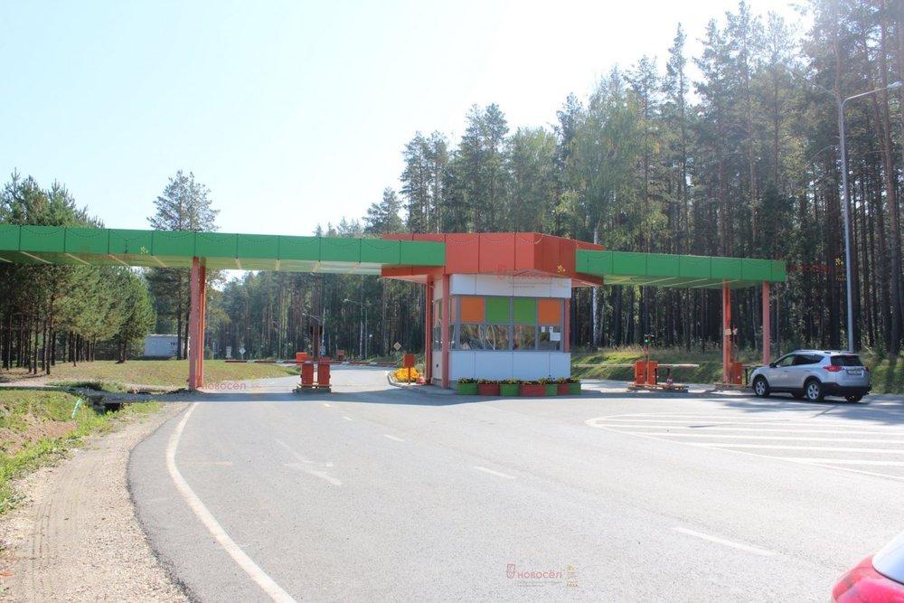 к.п. Заповедник, ул. Малиновка, 32 (городской округ Сысертский, п. Габиевский) - фото земельного участка (3)