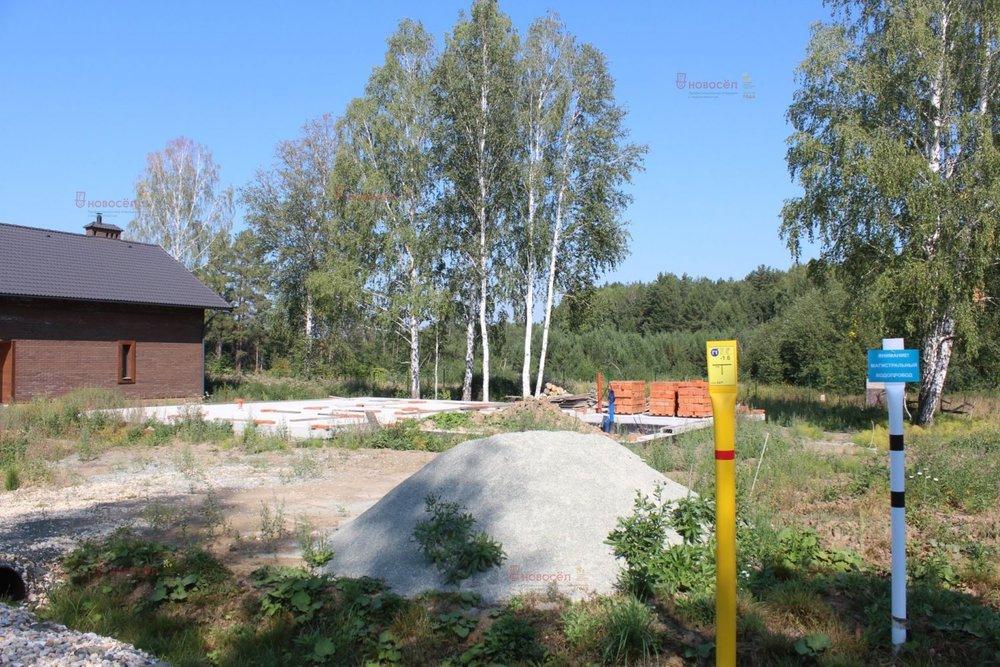 к.п. Заповедник, ул. Малиновка, 32 (городской округ Сысертский, п. Габиевский) - фото земельного участка (5)