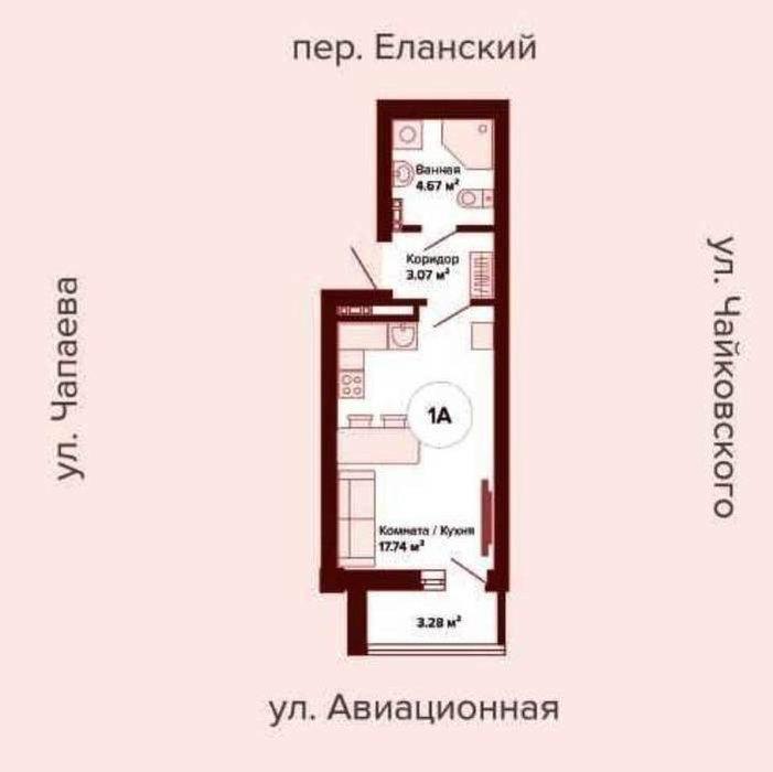 Екатеринбург, ул. Степана Разина, 107 (Автовокзал) - фото квартиры (3)