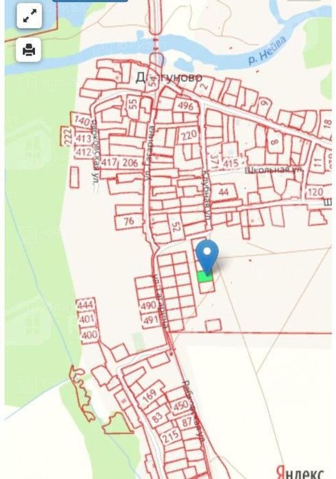 с. Дрягуново, ул. Гагарина, 57 (городской округ Горноуральский) - фото земельного участка (3)