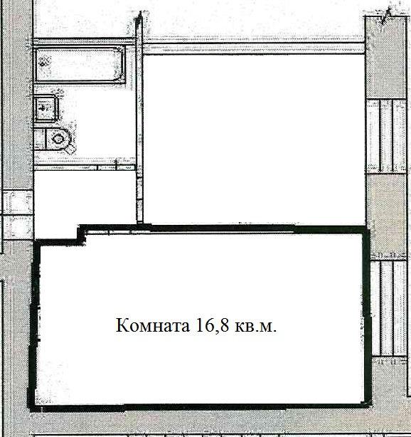 Екатеринбург, ул. Умельцев, 11 (Вторчермет) - фото комнаты (1)