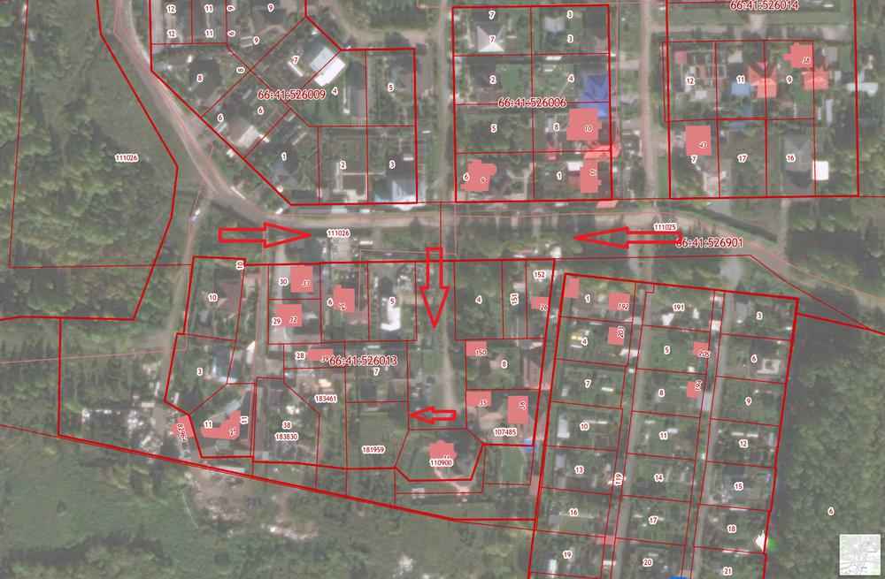 Екатеринбург, ул. Ковыльная, уч., 204 - фото земельного участка (3)