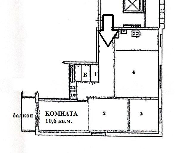 Екатеринбург, ул. Громова, 134 к.1 (Юго-Западный) - фото комнаты (8)