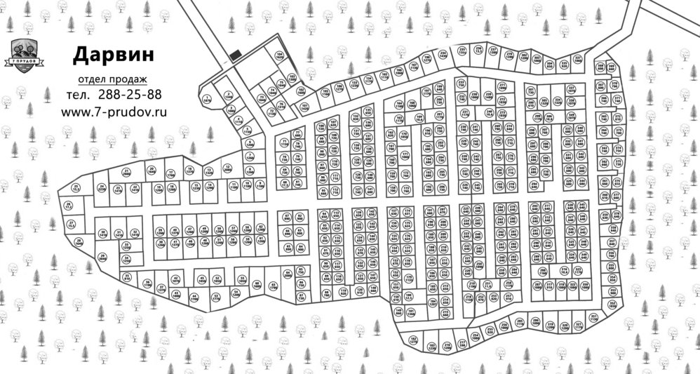 Коттеджный поселок Дарвин - фото 3