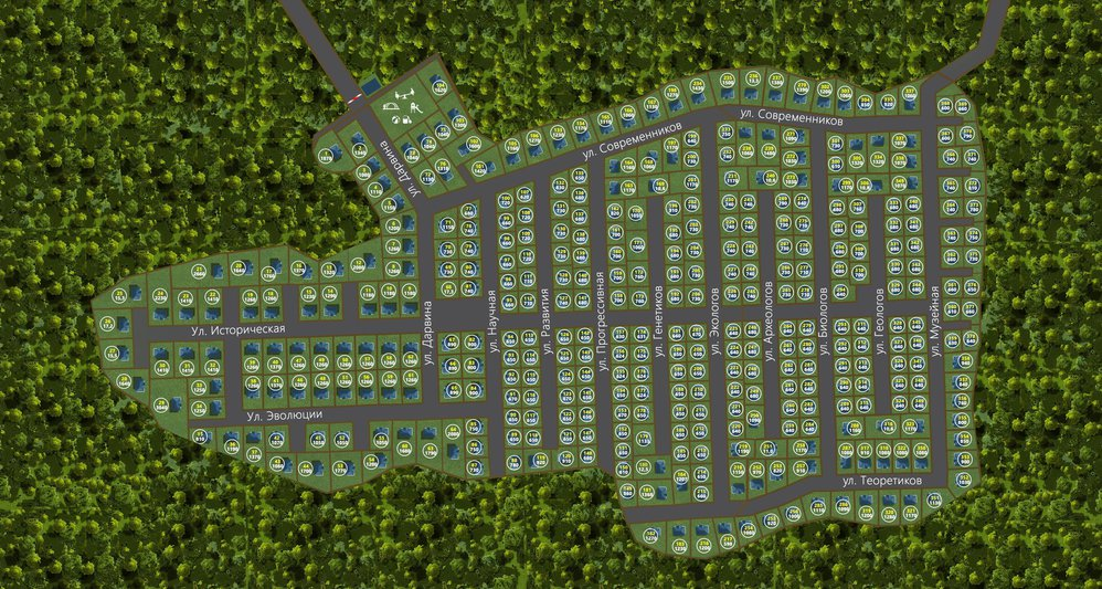 Коттеджный поселок Дарвин - фото 2