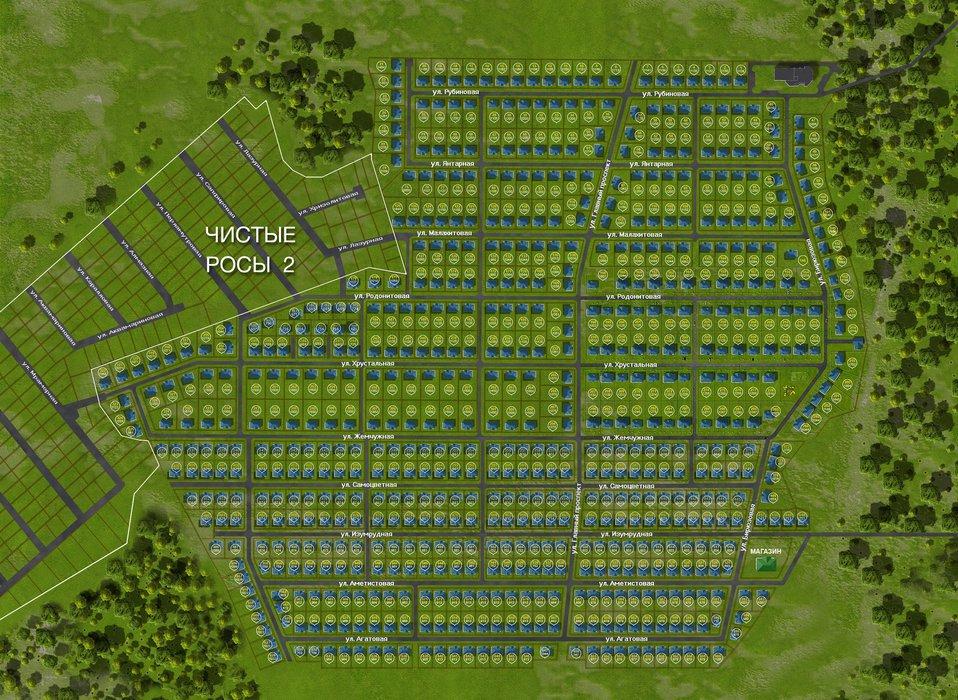 Коттеджный поселок Чистые росы - фото 21