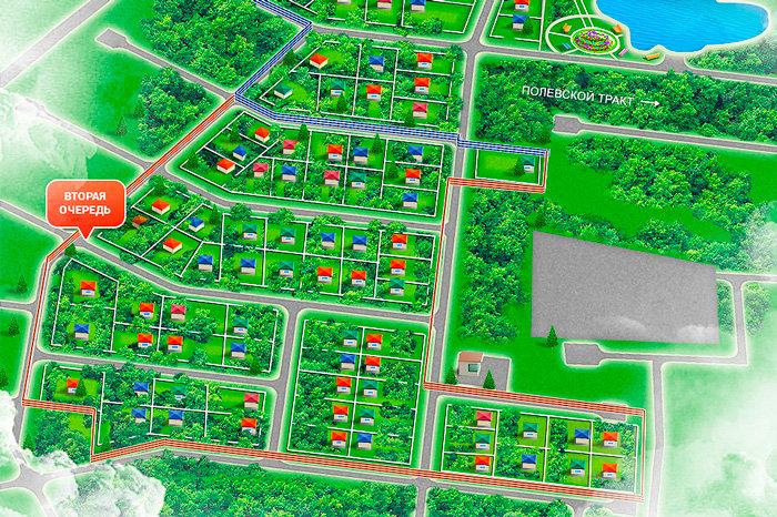 Коттеджный поселок Пескарь - фото 1